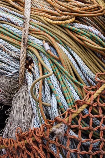 Wall Art - Photograph - Fishing Nets by Carol Leigh