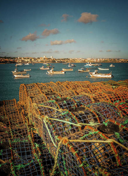 Fishing Village Photograph - Fishing Traps In Cascais by Carlos Caetano