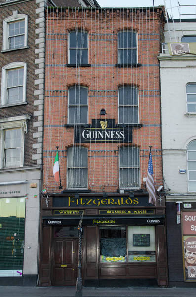 Photograph - Fitzgeralds  Pub - Dublin  Ireland by Bill Cannon