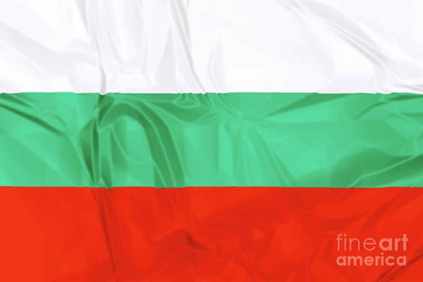 Digital Art - Flag Of Bulgaria by Benny Marty