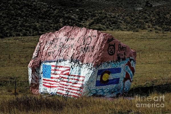 Photograph - Flags Of Our Fathers by Jon Burch Photography