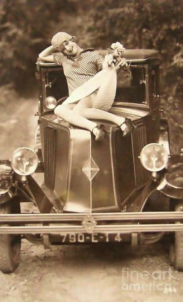 Flapper Photograph - Flapper Girl by Jon Neidert