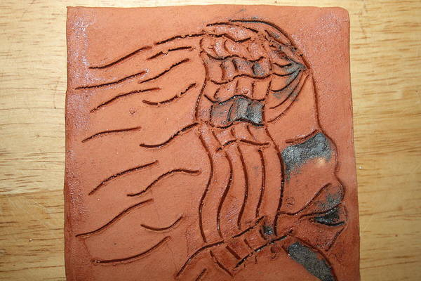 Ceramic Art - Flight - Tile by Gloria Ssali