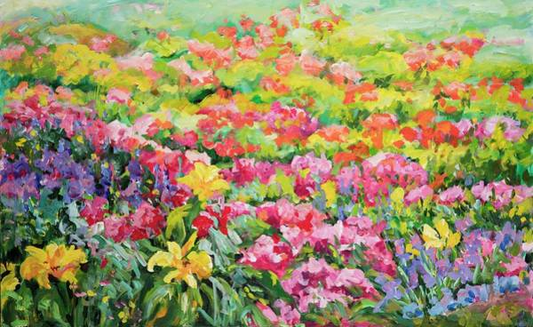 Painting - Floral Garden by Ingrid Dohm