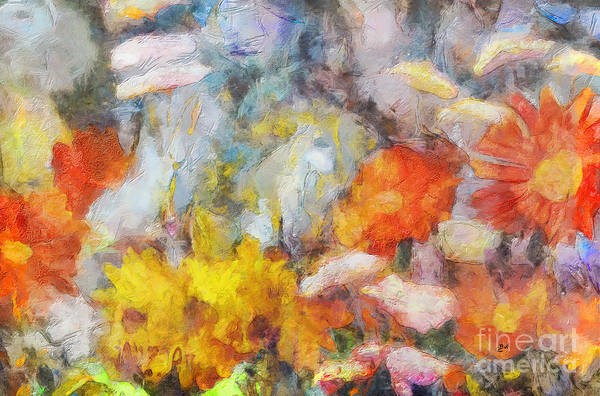 Painting - Floral Mix by Claire Bull