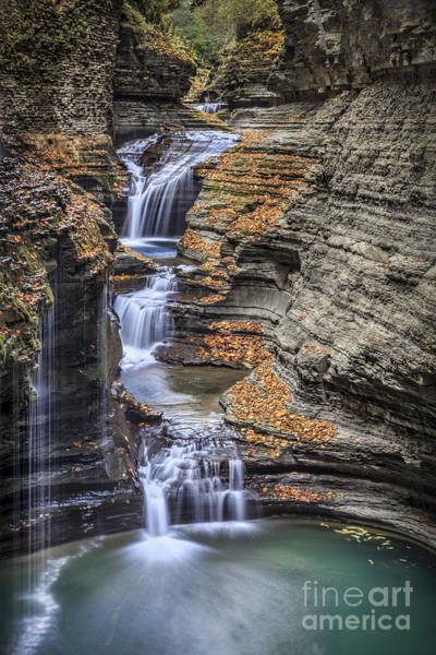 Glen Wall Art - Photograph - Flow Gently by Evelina Kremsdorf