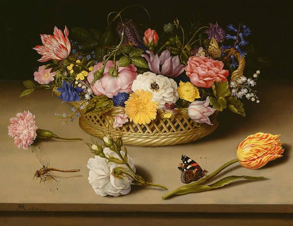 16th Century Painting - Flower Still Life  by Ambrosius Bosschaert