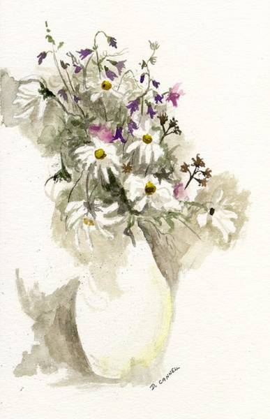 Painting - Flower Study Ten by Darren Cannell