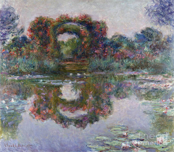 Painting - Flowering Arches by Celestial Images