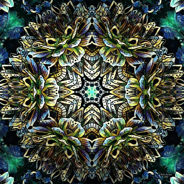 Digital Art - Flowering Mandela by Artful Oasis