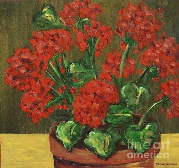 Painting - Flowers by Jeanie Watson
