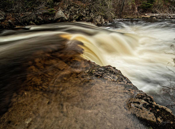Photograph - Flowing by Doug Gibbons