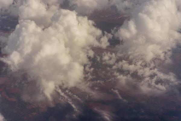 Photograph - Fluffy Clouds by Robert Potts