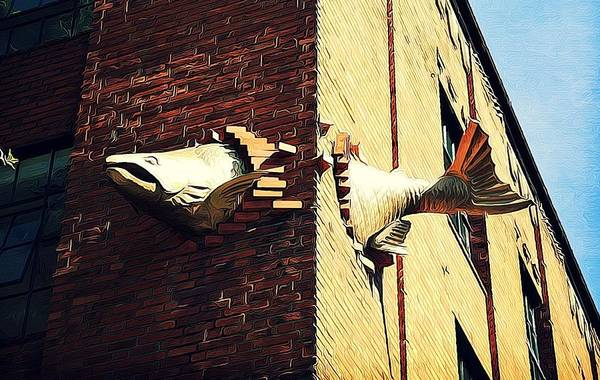 Pdx Photograph - Flying Fish by Cathie Tyler