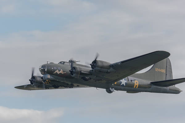 Photograph - Flying Fortress Sally B by Gary Eason