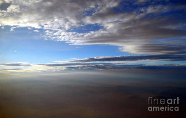 Photograph - Flying Over Southern California by Christopher Shellhammer