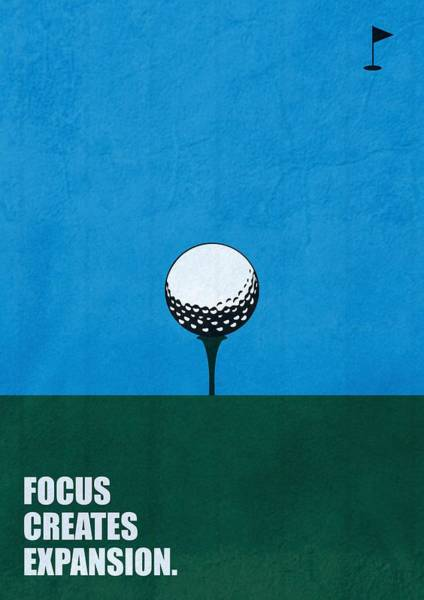 Office Digital Art - Focus Creates Expansion Corporate Start-up Quotes Poster by Lab No 4