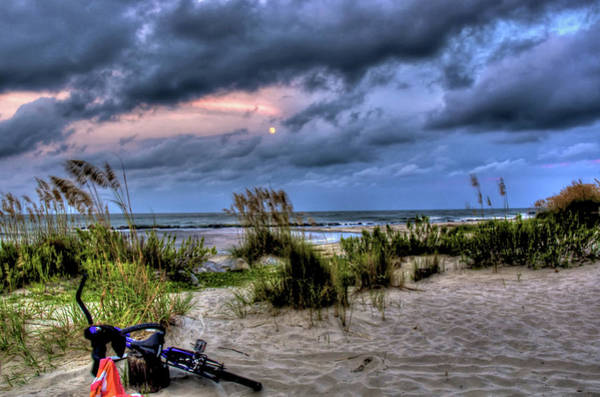 Wall Art - Photograph - Folly Beach At Dusk by Drew Castelhano