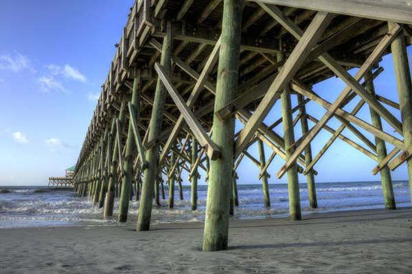 Photograph - Folly Beach Pier  by Dustin K Ryan