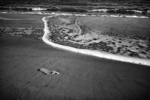 Photograph - Footprint by Mary Lee Dereske