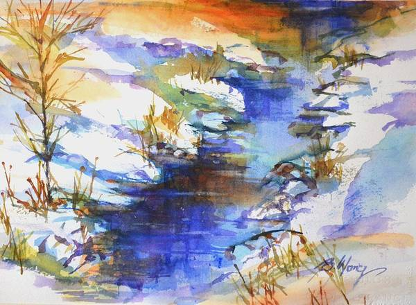 Painting - For Love Of Winter #3 by Betty M M Wong