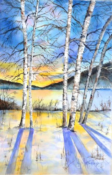 Painting - For Love Of Winter #5 by Betty M M Wong