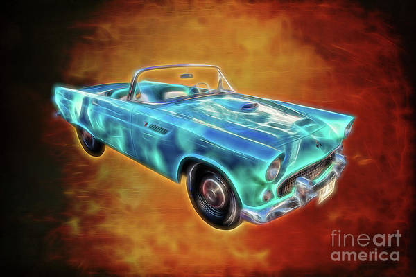 Wall Art - Photograph - Ford Thunderbird by Adrian Evans