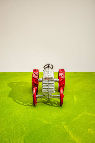 Wall Art - Photograph - Fordson Tractor Front by Yo Pedro