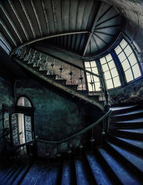 Photograph - Forgotten Staircase by Jaroslaw Blaminsky
