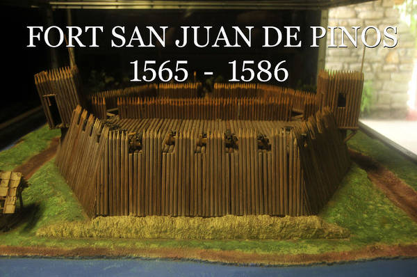 Pedro Menendez Photograph - Fort San Juan De Pinos 1565 by David Lee Thompson