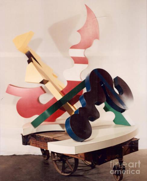 Sculpture - Four Temperments by Robert F Battles