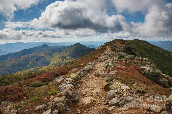 Photograph - Franconia Ridge Trail - White Mountains New Hampshire by Erin Paul Donovan