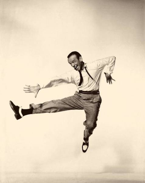 Daddy Long Legs Photograph - Fred Astaire In Daddy Long Legs 1955 by Mountain Dreams