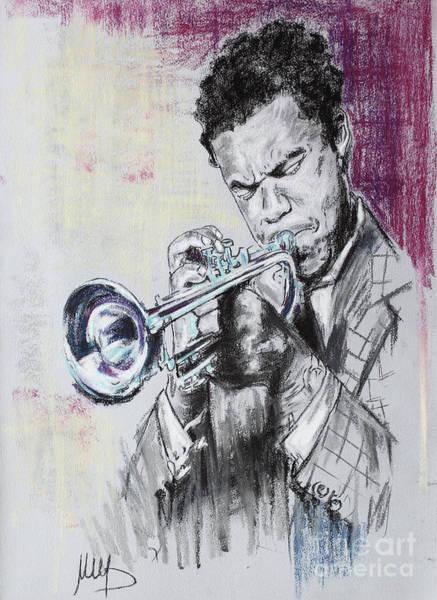 Trumpeter Painting - Freddie Hubbard by Melanie D