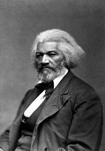 Slavery Photograph - Frederick Douglass Photo by War Is Hell Store