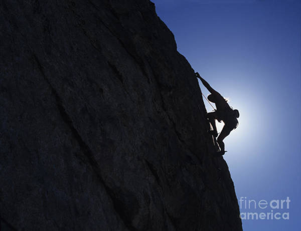 Photograph - Free Climbing by Howie Garber