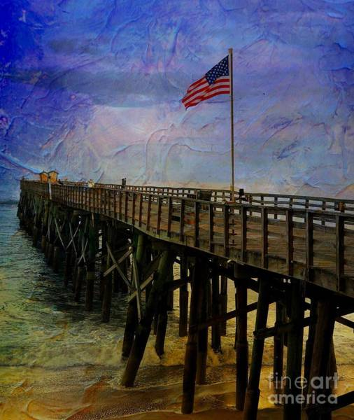 Flagler Beach Photograph - Freedom by Debbi Granruth