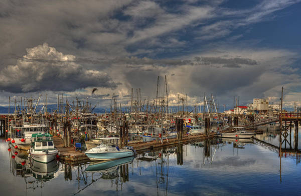 Photograph - French Creek Marina by Randy Hall