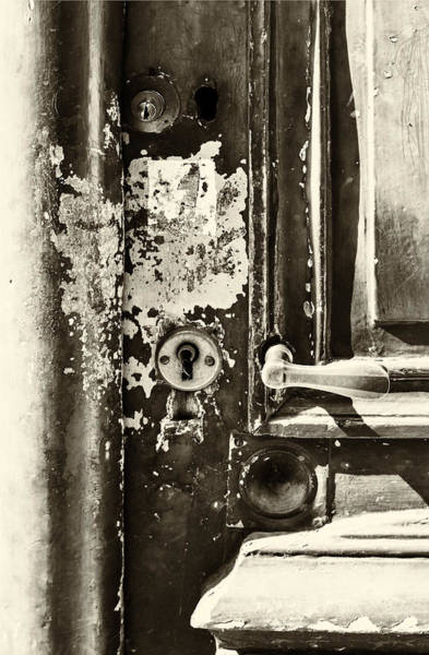 Photograph - French Door Detail by Georgia Fowler
