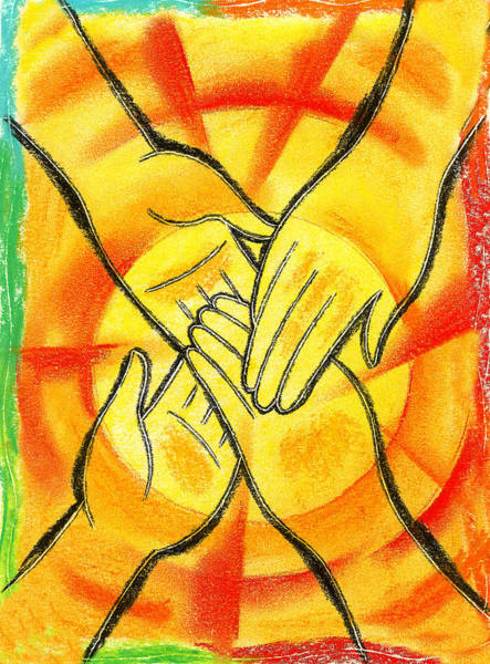 Wall Art - Painting - Friendship by Leon Zernitsky