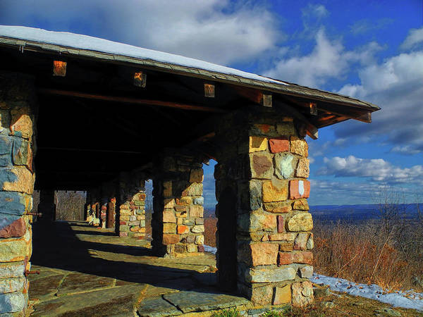 Photograph - From At Sunrise Mountain In Nj by Raymond Salani III