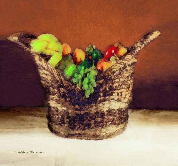 Digital Art - Fruit  Art 11 by Miss Pet Sitter
