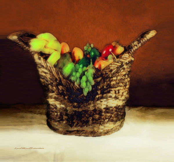 Digital Art - Fruit  Art 12 by Miss Pet Sitter