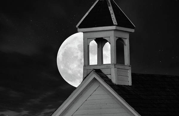 Wall Art - Photograph - Full Super Moon by Mark Duffy