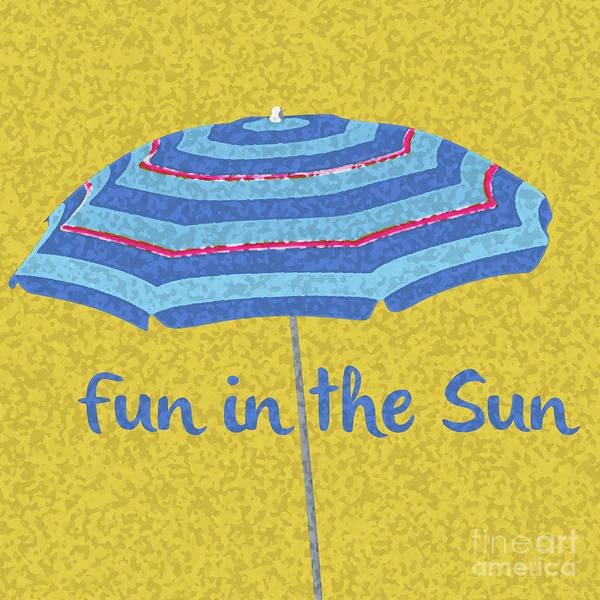 Digital Art - Fun In The Sun by Edward Fielding