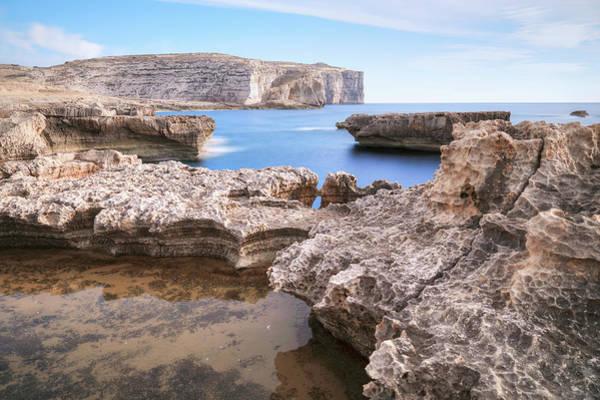 Gozo Wall Art - Photograph - Fungus Rock - Gozo by Joana Kruse
