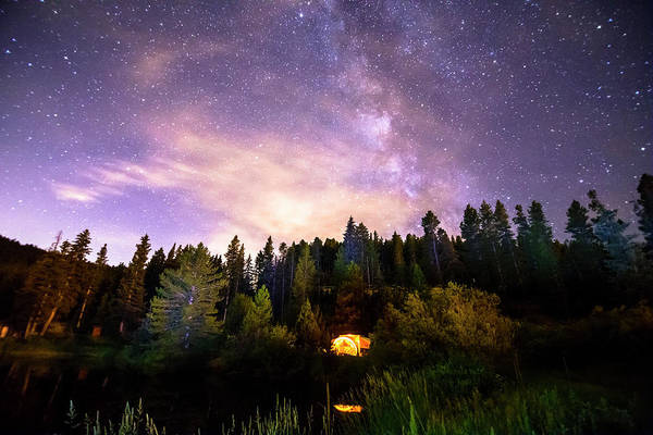 Photograph - Galaxy Night by James BO Insogna
