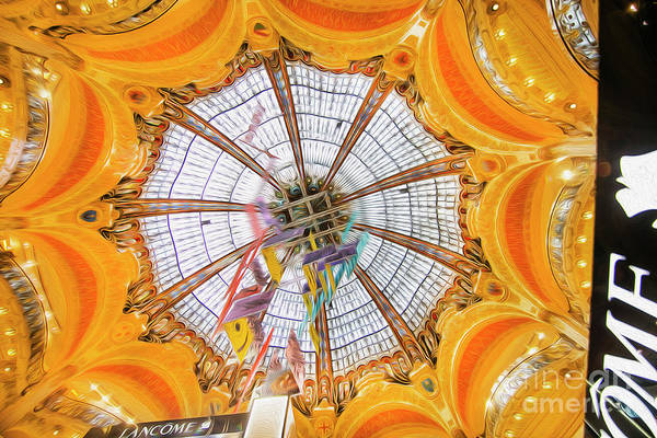 Galeries Lafayette Photograph - Galeries Lafayette Inside 7 Art by Alex Art and Photo