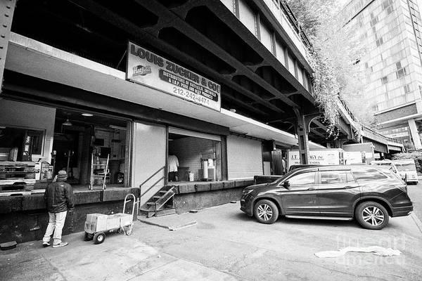 Wall Art - Photograph - Gansevoort Market Meat Center Meatpacking District New York City Usa by Joe Fox