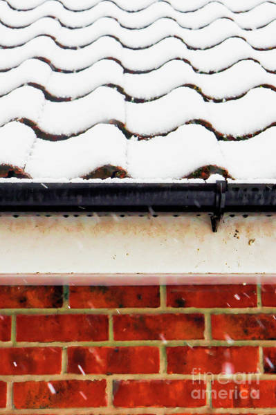 Wall Art - Photograph - Garage In The Snow by Tom Gowanlock